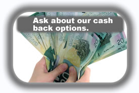 car loan with cash back